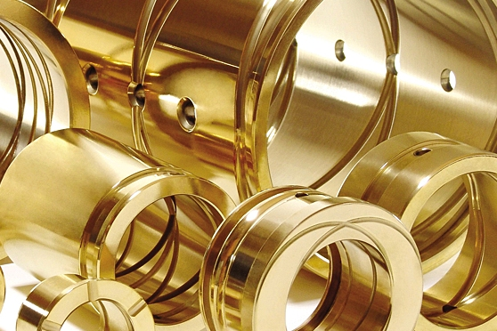 Piezas mecanizadas en nuestro material TVH® 7