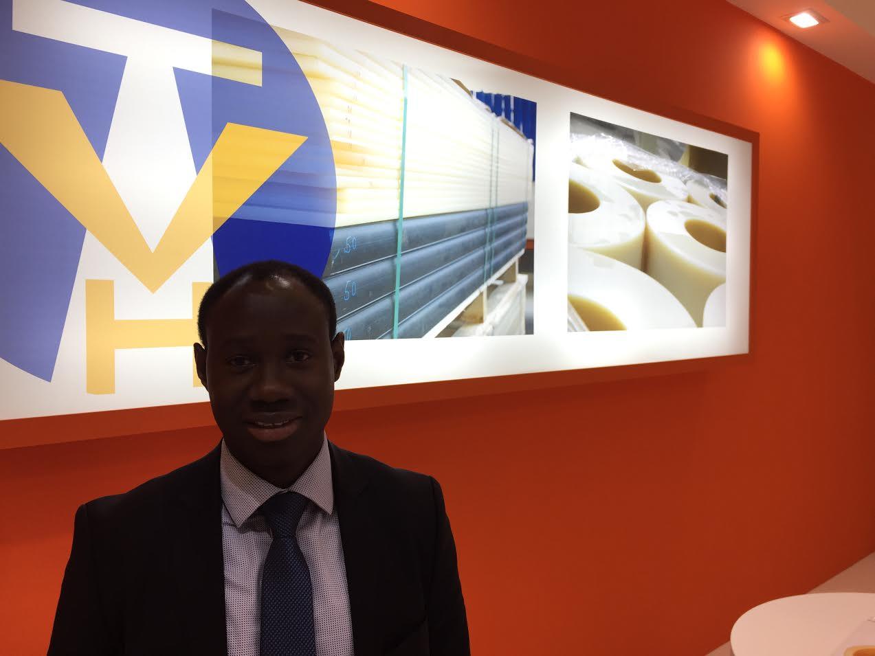 Adama Padane (Manager para el mercado Africano).
